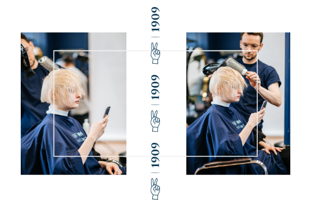 modelowanie włosów proste włosy prostowanie prostownica