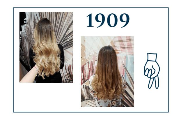 Porównanie koloryzacji Sombre z ombre na długich włosach, Sombre na falowanych włosach, refleksy słoneczne na długich włosach