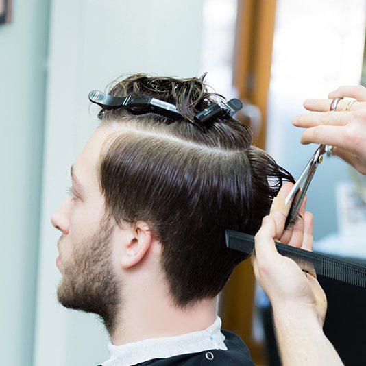 Strzyżenie męskie Zdjęcie 1909 fryzjerzy