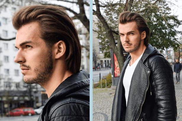 Fryzura męska włoska - strzyżenie - fryzjer męski warszawa