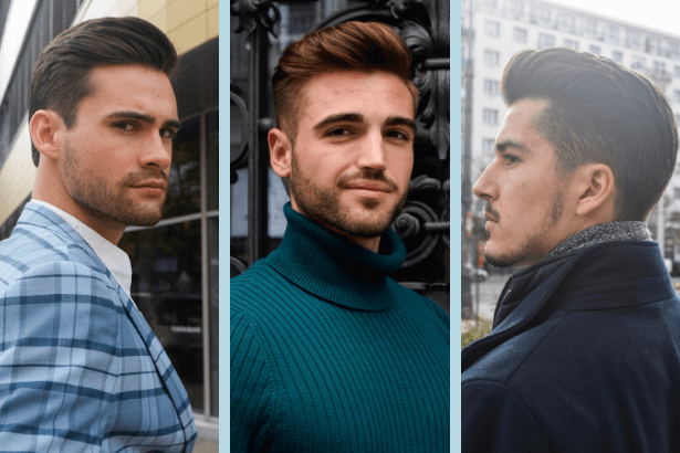Fryzjer męski Warszawa - strylizacje włosów męskich - fryzura włoska